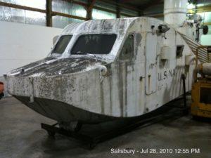 9-Cabin in shop for restoration