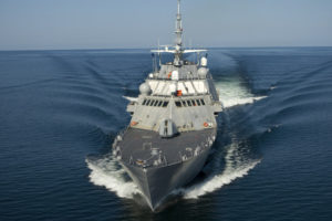 LCS 1 bow