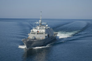 LCS 1 port bow