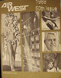 Air West Magazine, 1968 50th Issue