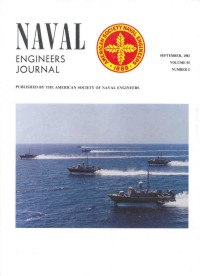 PHM Formation on cover of Naval Engineers Journal September 1983