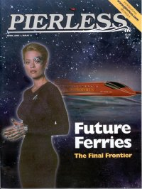 future hydrofoil ferries in Pierless magazine