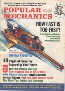 Renato Castellani, Popular Mechanics September 1967