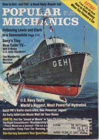 PLAINVIEW, Popular Mechanics December 1968