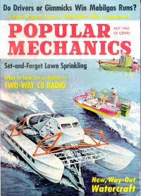 Cover of Popular Science July 1963