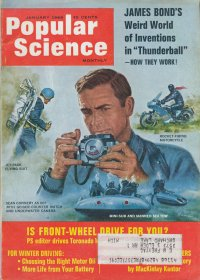 James Bond Inventions in Popular Science January 1966