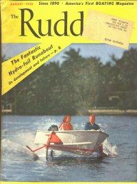 Hydrofoil Runabout, Rudder Magazine August 1958