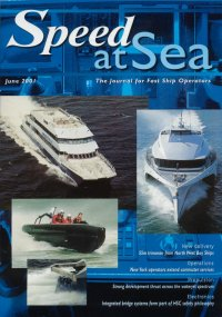 Cover of Speed at Sea with hydrofoil trimaran