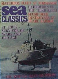 US Navy on Stilts (hydrofoils) i n Sea Classics January 1974