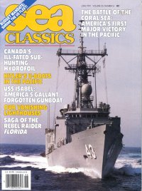Hydrofoil Submarine Hunter in Sea Classics June 1991